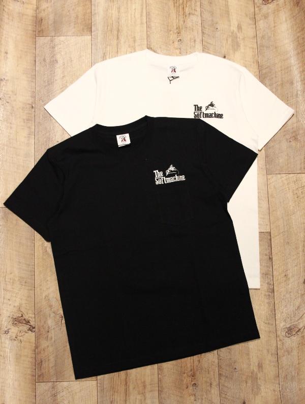 SOFTMACHINE  「GOD-PT」 ポケットティーシャツ