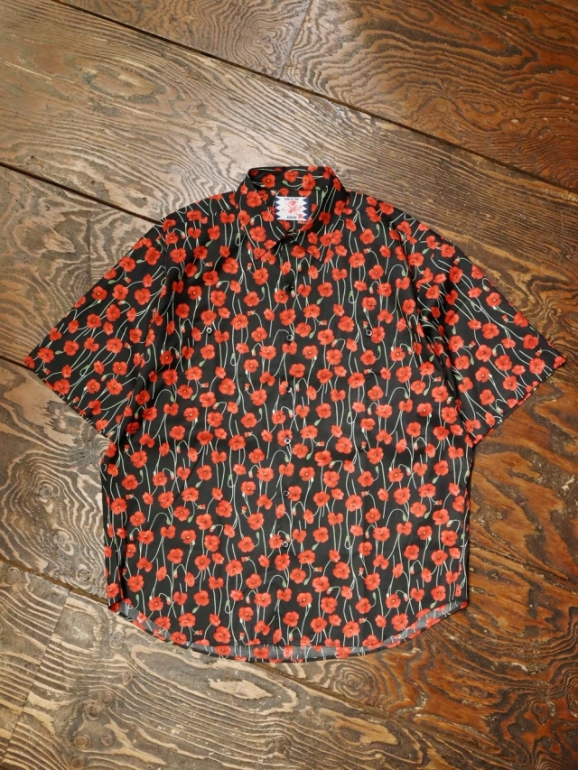 SON OF THE CHEESE  「 Flower Shirt 」 総柄プリントシャツ