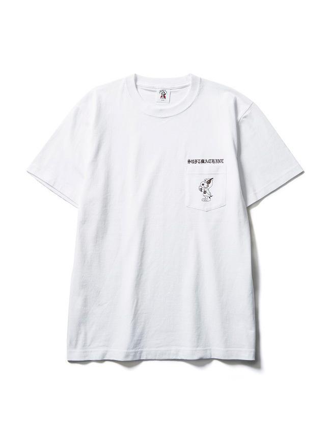 SOFTMACHINE  「DOYLE - PT」 ポケットティーシャツ