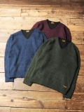 CALEE  「V-NECK KNIT SWEATER 」 ブイネックニットセーター