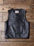 CALEE   「LEATHER VEST」  レザーベスト