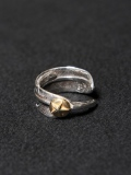 CALEE × JAM HOME MADE  「FEATHER PINKIE RING」  SILVER製 ピンキーリング