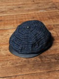 CALEE  「OLD JAPAN DIE TWO-TONE CASQUETTE 」  レザーコンビキャスケット