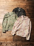 CALEE  「PRINT NEL PAISLEY PATTERN L/S SHIRT 」  オープンカラーシャツ