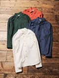 CALEE  「L/S PLANE NEL SHIRTS」  プレーンネルシャツ