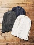 CALEE  「L/S DENIM TUCK SHIRT 」  デニムタックシャツ