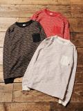 CALEE    「JACQUARD L/S T-SHIRT」 ロングスリーブティーシャツ