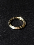CALEE  「TRIANGLE RING 〈BRASS〉」 真鍮製リング