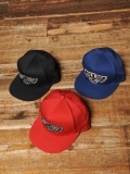 CALEE  「WAPPEN TWILL CAP」  ワッペンツイルキャップ
