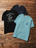 CALEE  「WASHED SNAKE T-SHIRT 」 プリントティーシャツ