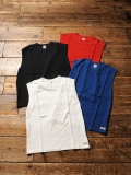 CALEE 「NO SLEEVE PILE T-SHIRT」 ノースリーブパイルティーシャツ