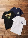 CALEE   「WORK MAN T-SHIRT」 プリントティーシャツ