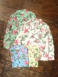 RADIALL  「PURPLE PISTILS - OPEN COLLARED SHIRT L/S」  オープンカラー レーヨンシャツ