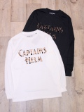 【NEW YEAR LIMITED ITEM !! 】 CAPTAINS HELM  「#LEOPARD LOGO L/S TEE」 プリントロンティー