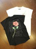 SOFTMACHINE  「BLOODY ROSE N/S」 カットオフティーシャツ