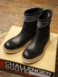 DERIVE × CHALLENGER   「BANDANNA CUSTOM LEATHER BOOTS」 レザーブーツ