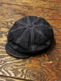 TROPHY CLOTHING  「Dirt Denim Newsboy Cap」  デニムニュースボーイキャップ