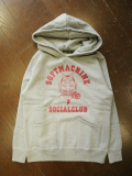 SOFTMACHINE  「SC HOODED」 プルオーバーパーカー