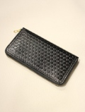 DEXTER  「 Embossing Leather Round Zip Long Wallet」  レザーロングウォレット