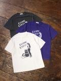 RADIALL 「BANDITS - CREW NECK T-SHIRT」 プリント パイルティーシャツ