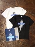 RADIALL  「GALAXIE LADY - CREW NECK T-SHIRT」 プリントティーシャツ