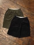 COOTIE   「Corduroy Drawstring Shorts 」  イージータイプ コーデュロイショートパンツ