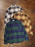 RADIALL  「MOON STOMP - REGULAR COLLARED SHIRT L/S」 レギュラーカラー チェックシャツ
