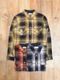TROPHY CLOTHING   「Logger Indigo Check Shirts」 チェック ワークシャツ