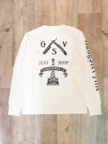 GANGSTERVILLE  「CLASSIC PARLOR - L/S HENLEY T-SHIRT」  ポケットヘンリーネックティーシャツ