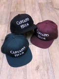 【NEW YEAR LIMITED ITEM !! 】 CAPATAINS HELM 「LOGO SNAP BACK」      ベースボールキャップ