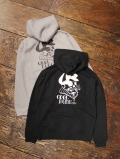 DOZEN ONE  「SKULL ZIP HOODED」 ジップパーカー