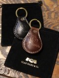 GLAD HAND   「GH LEATHER - KEY FOB 」  レザーキーホルダー