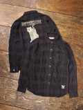 SOFTMACHINE  「KNOWLEDGE SHIRTS L/S」 チェックシャツ