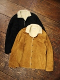 COOTIE  「Suede Boa Jacket」 スウェードレザー ボアジャケット