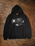 BONES & BOLTS  「HOODIE (DOWN NOT OUT)」  プルオーバーパーカー