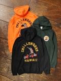 CHALLENGER   「HAWAIAN EMBRIDERED HOODIE 」 プルオーバーパーカー