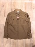 TROPHY CLOTHING  「Moleskin Machine Age Shirt」  モールスキンワークシャツ