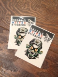 WZ LOWBROW COLLECTION  「BIKER CREATURE」  ステッカー