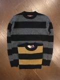 HIDEANDSEEK 「Wool Border L/S Knit」 ボーダーニットセーター