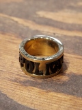 CALEE  「POLICY RING 〈BRASS〉 」 BRASS製 リング