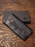 BLACK SIGN   「Buffalo Black Eye Round Long Wallet 」 レザーウォレット