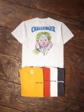 CHALLENGER  「WASHED CLOWN TEE」 プリントティーシャツ