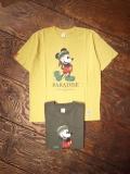 SAINTPAIN × Disney   「 MICKEY-RASTA TEE 」 プリントティーシャツ