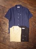 SAINTPAIN   「 LINEN OPEN SHIRTS SS 」 リネンオープンカラーシャツ