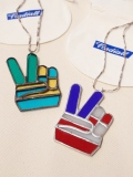 RADIALL × NEW TRAD Glass Art   「PEACE SIGN STAINED GLASS ORNAMENT」  ステンドグラス オーナメント