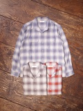 RADIALL  「 RUG TOP OPEN COLLARED SHIRT L/S」 オープンカラーチェックシャツ