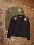 SOFTMACHINE  「SWALLOW SWEATER」  クルーネックセーター
