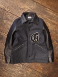GANGSTERVILLE   「CLASSIC PARLOR - JACKET 〈BLACK〉」   メルトンアワードジャケット