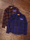 CHALLENGER   「L/S CHECK WORK SHIRT」 チェックワークシャツ