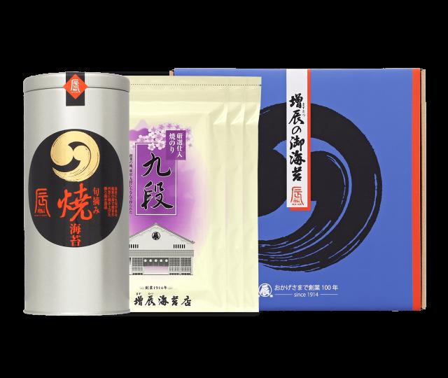 旬摘み丸缶、九段3 N50ギフト